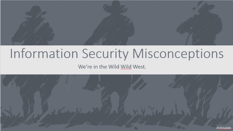 Security Misconceptions 2020